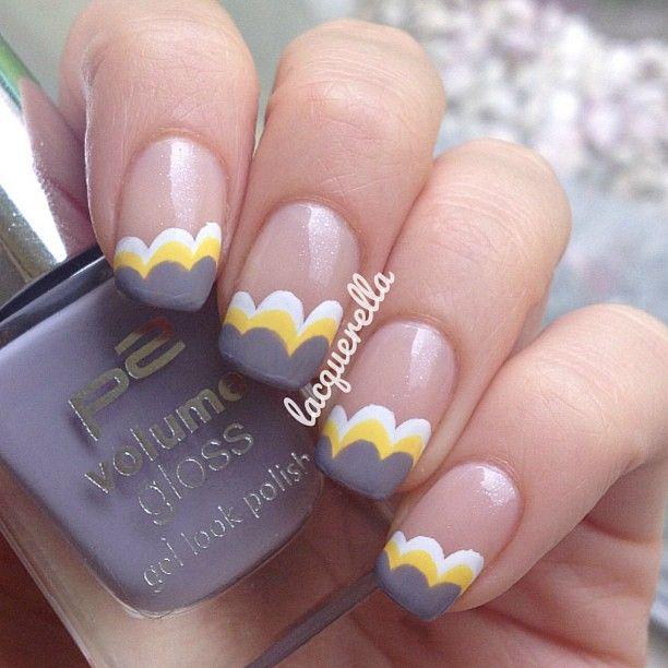 Instagram photo by  lacquerella #nail #nails #nailart