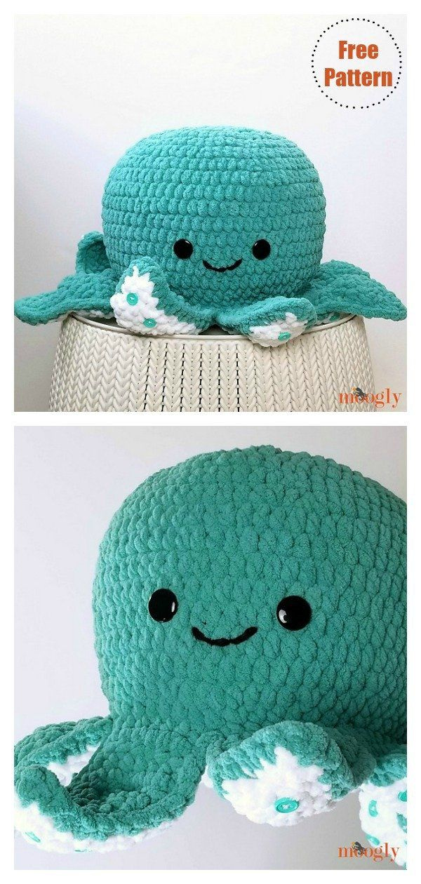 Giant Octopus Crochet Pattern Free & Paid