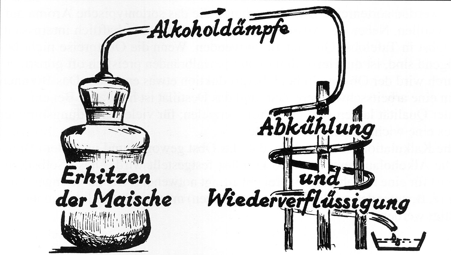 Destillation Alkohol