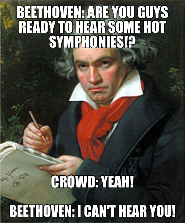 8058e36f47b682aee068bac417c6181a let's make some noise for beethoven! a pinterest internet