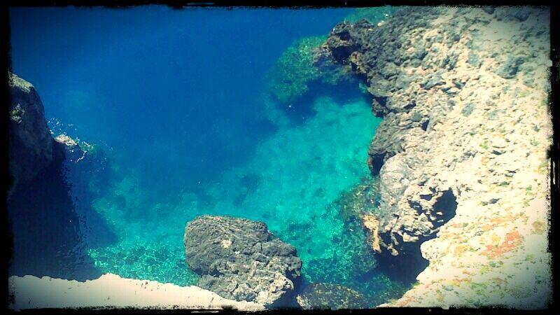 The sea of Giannutri Island - Maremma, Tuscany - Italy