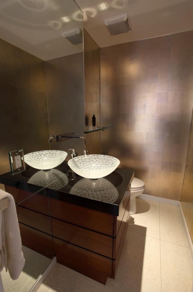 Formschön und exklusiv geben Granit Waschtische Ihrem Badezimmer ...