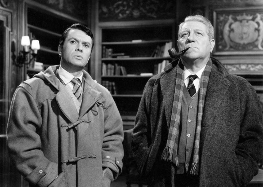 Jean Gabin Dans Maigret Et L Affaire Saint Fiacre 1959 Actors Film Stills Jean