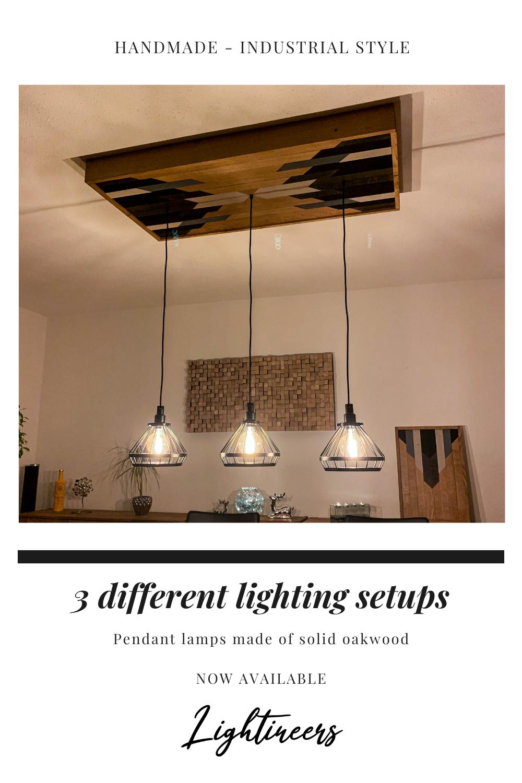 Pin Auf Pendant Lamp Industrial Style Diningroom Light