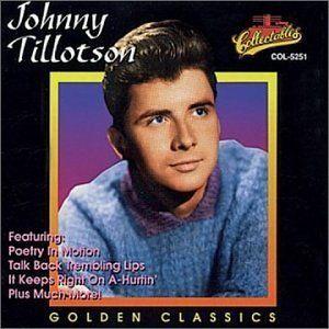 Johnny Tillotson Poetry In Motion Johnny Tillotson