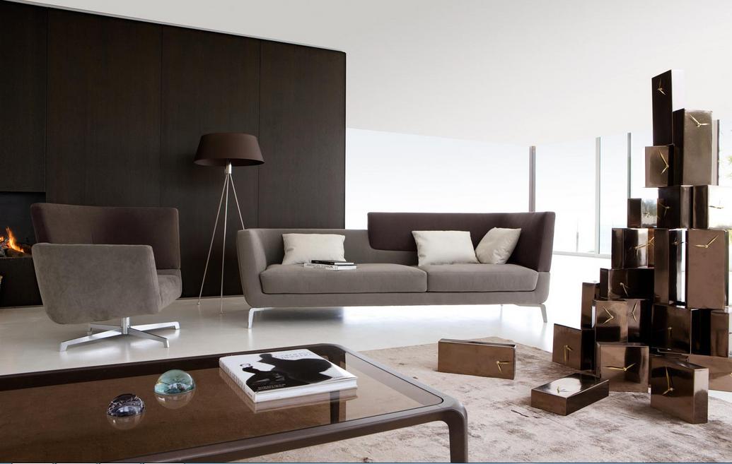 Braunes Wohnzimmer Das Zimmer Mit Der Farbe Braun Kombination