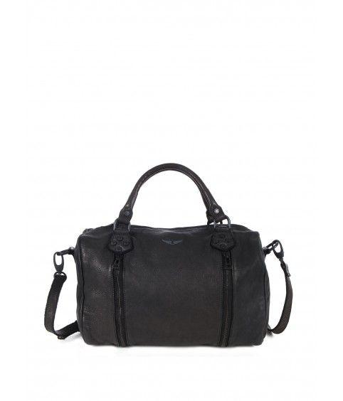 3eeed7321e7 sac pour femme little city sunny noir- Zadig Voltaire  bag  black  rock