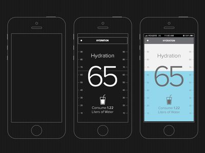 iPhone 5 Blueprint Wireframe - copy free blueprint design app