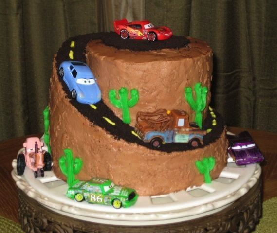 Disney Cars Cake Looking for Cars Birthday Cake Ideas See our