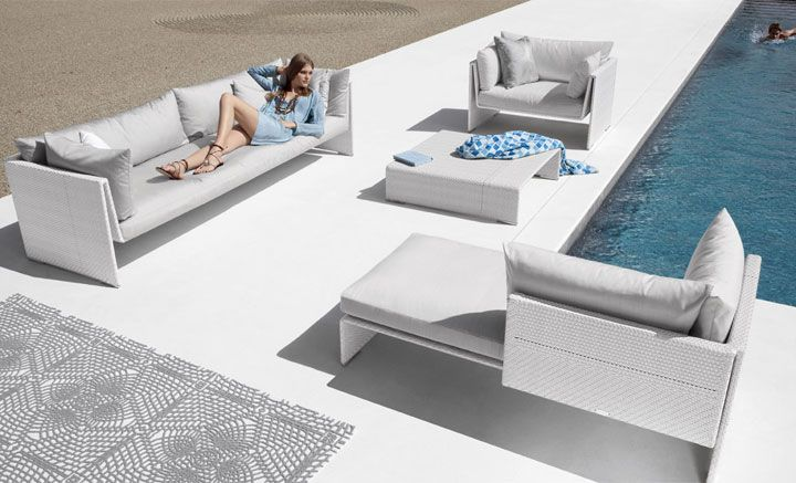 Dedon Slimline Patio Furniture Contemporary Furniture