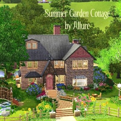 Check Out This Item From The Sims 3 Exchange Cottage Garden Sims House Sims Building
