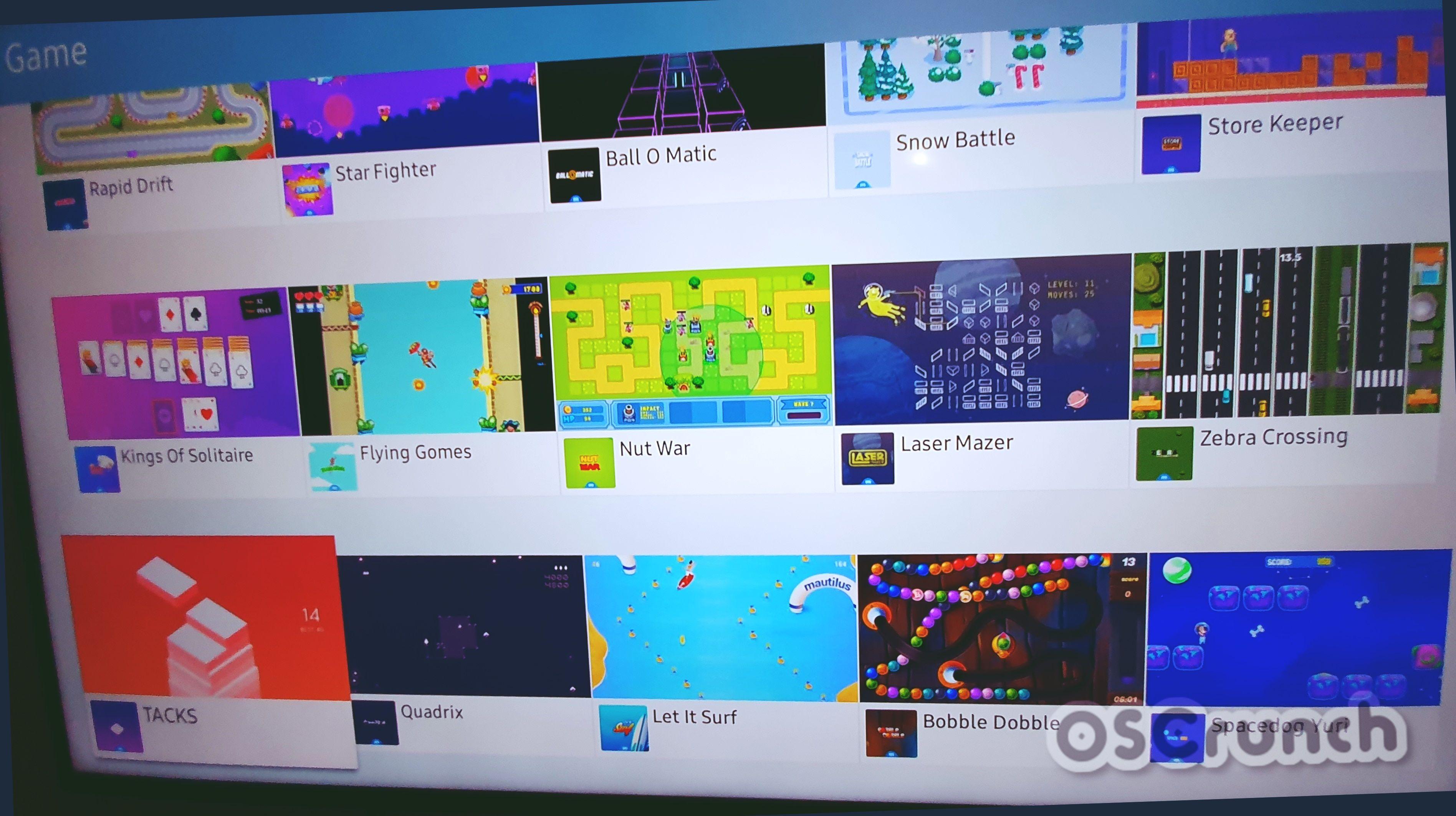 List of all Samsung Smart TV Apps on Smart Hub Smart tv