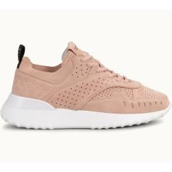 Tod's – Sneakers aus Veloursleder, Rosa, 37.5 – Shoes Tod'sTod's