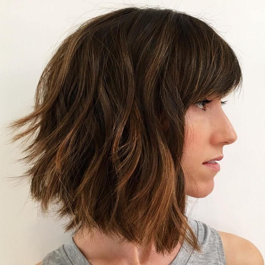 60 Beautiful And Convenient Medium Bob Hairstyles Pinterest