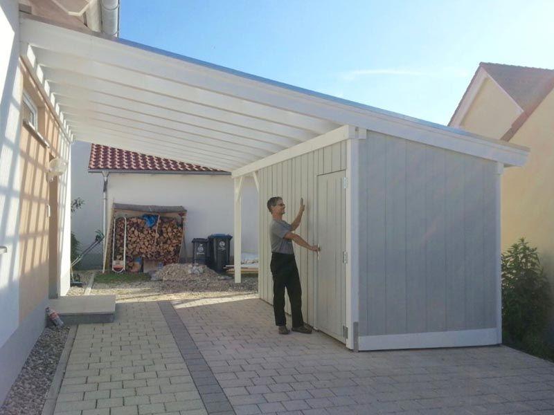Carport Aus Holz Mit Pultdach Carport Holz Pultdach Carport Modern