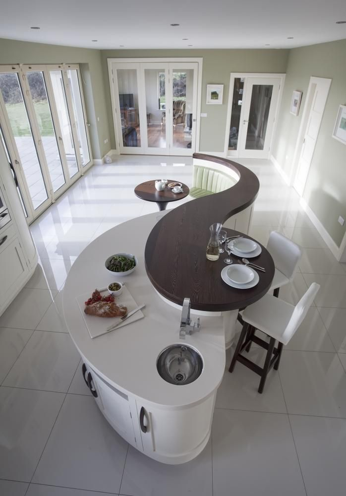 Image Result For Curved Islands In Kitchens N Terrace Dr