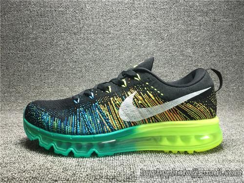 Men's NIKE Flyknit Air Max Running Shoes Authentic 620469