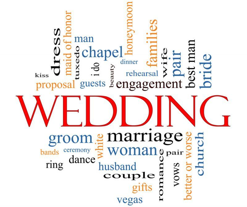 The A To Z Of Wedding Abbreviations