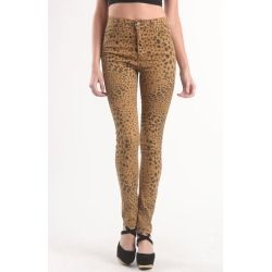 Sales Womens Cheap Monday Jeans - Cheap Monday Second Skin Leopard Skinny Jeans new - Online Exclusive! Light leopard print throughout. Cheap Monday button and zip-fly front. High waisted. High rise. 10.5