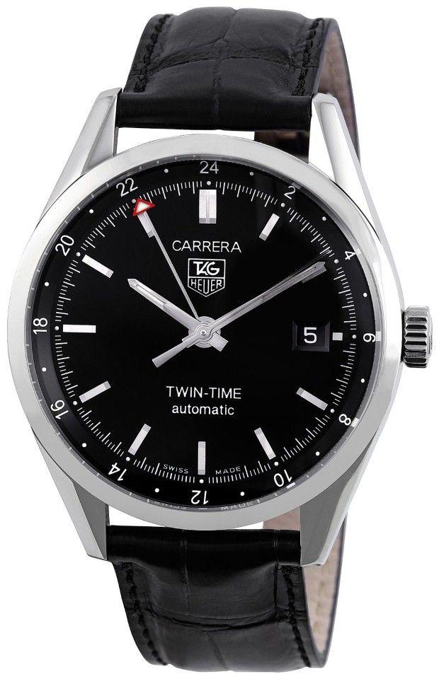 Tag Heuer men watches : Carrera Twin Time Men's Watch