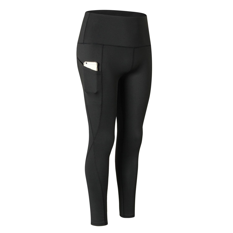 Women's Yoga Pants Athletic Leggings Running Sports Gym Workout 4 Way Stretch Yoga Pants Fun Print -...