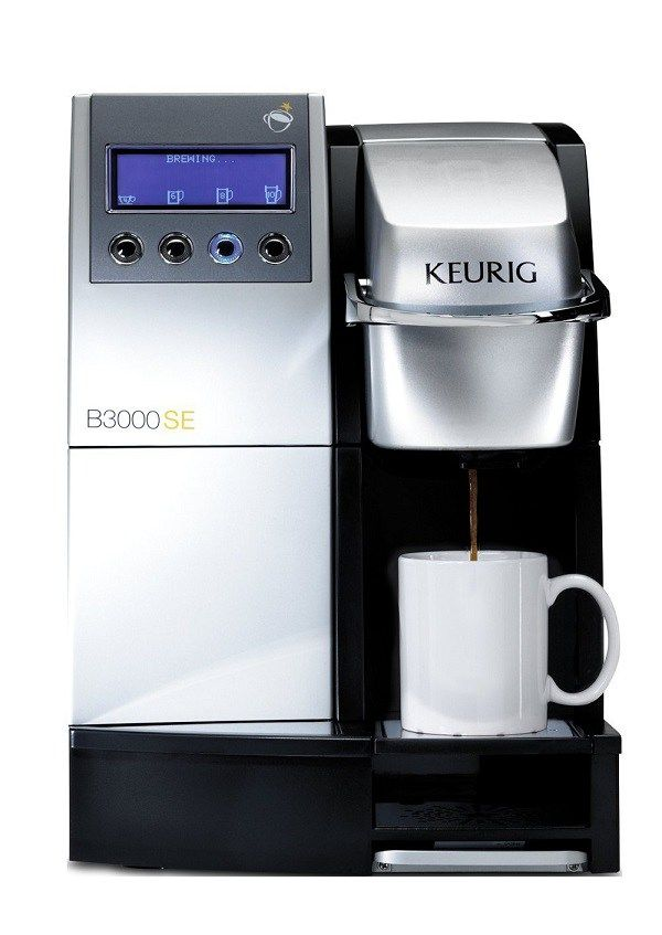 Best Commercial Espresso Machine Reviews Keurig B 3000 Se Coffee Single Cup Office Brewing System Review