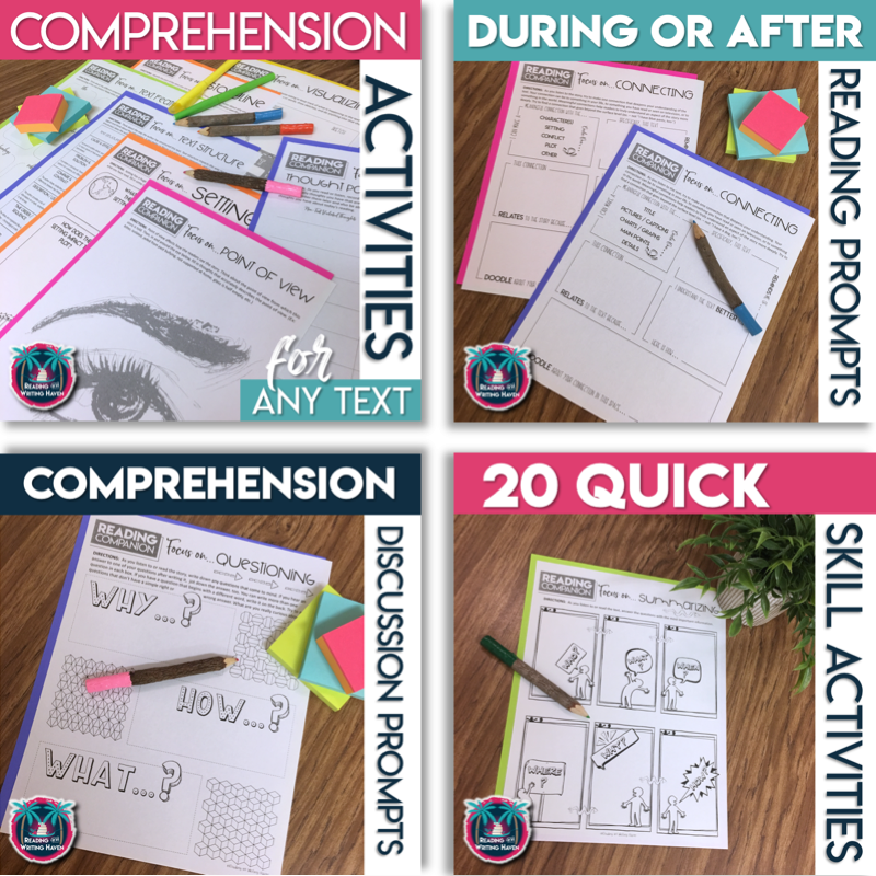 Reading Activities for Comprehension in Middle and High