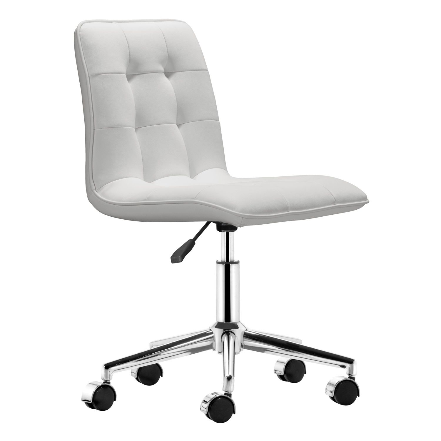 white modern office. Scout White Office Chair @Zinc_Door Modern D