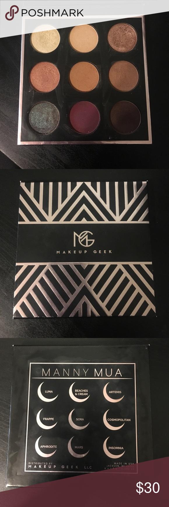 Manny MUA x Makeup Geek Palette Makeup geek palette