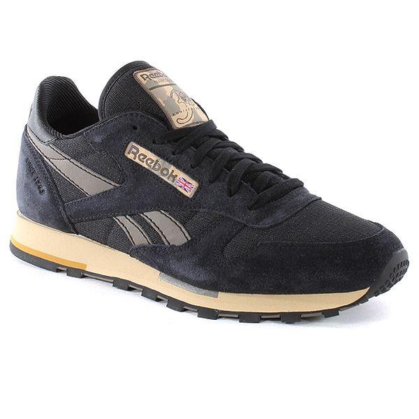 Shoes Leather Cl at Utility Urban Reebok Blackbrown VpLqzMjSUG