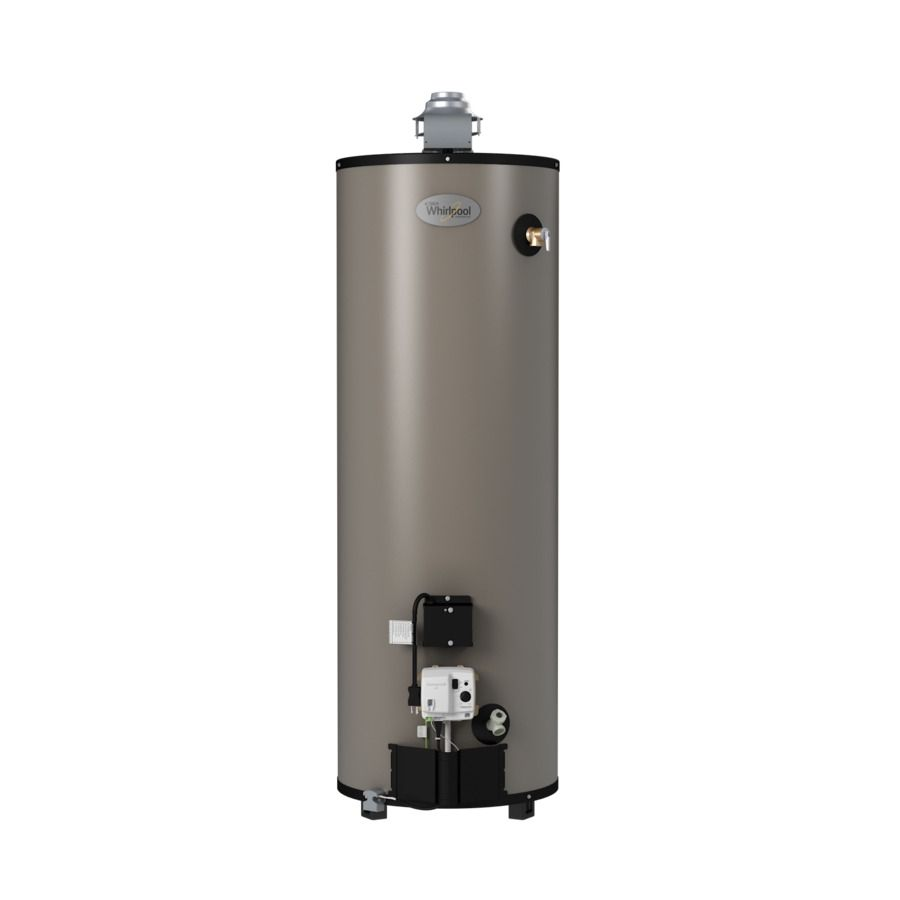 Whirlpool 50 Gallon 12 Year Limited Residential Tall Natural Gas Water Heater Natural Gas Water Heater Gas Water Heater Water Heater