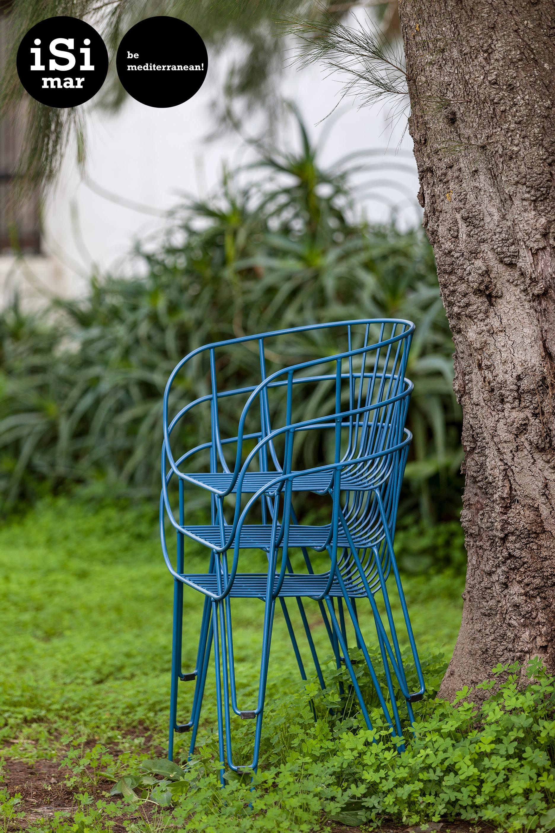 Olivo Armchair By ISimar, Wire Armchair, Outdoor Wire Chair, Outdoor  Furniture, Furniture