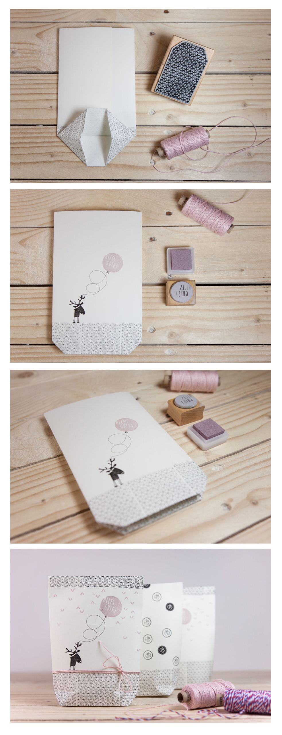 gestempelte geschenket te gift wrappings geschenke geschenke verpacken und verpackung. Black Bedroom Furniture Sets. Home Design Ideas