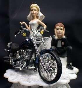 Harley Davidson Motorcycle Wedding Cake Topper Lot Glasses Knife Motorcycle Wedding Biker Wedding Wedding Cake Toppers