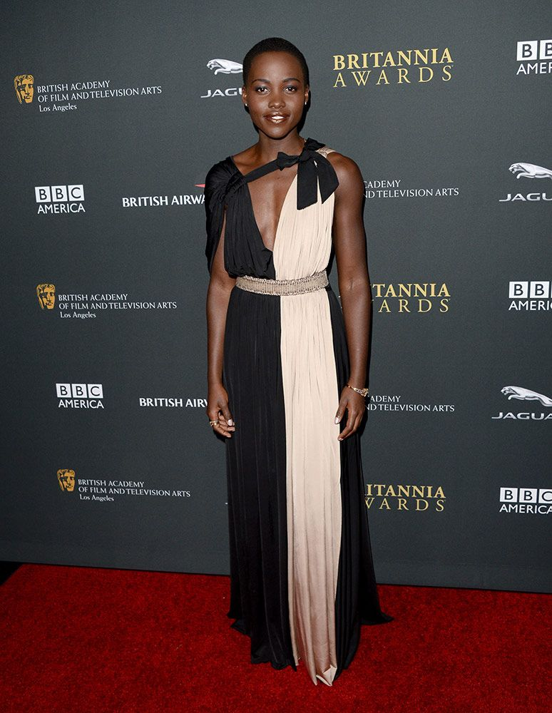 Attending the BAFTA LA Jaguar Britannia Awards on November 9, 2013.
