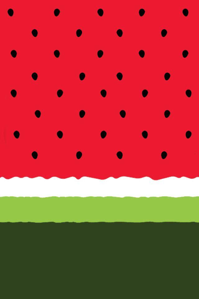 Watermelon wallpaper Cute Pinterest Watermelon