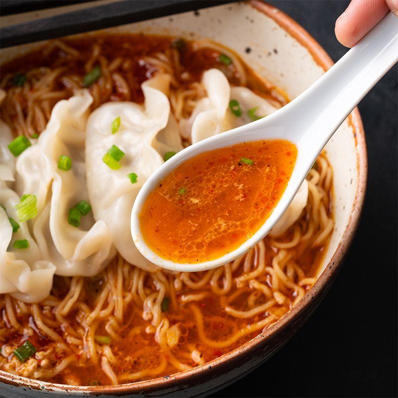 spicy peanut dumpling noodle soup marion s kitchen recipe spicy peanut noodles dumplings for soup asian soup noodle pinterest