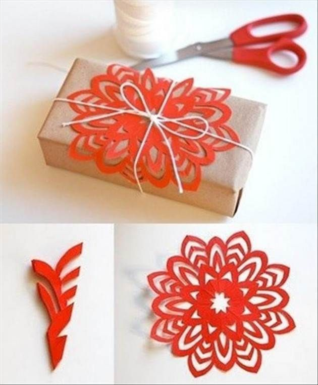Do it yourself ideas diy how to ideas pinterest craft wraps diff sizes for snowflake art art diy paper flowers a nice way to decorate packages without buying wrapping paper or bows i made a bunch of these last year solutioingenieria Images