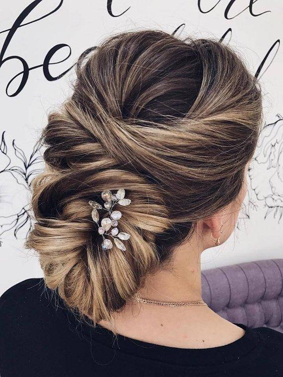 6 per pack NEW Pearl Hair Springs Hair Coils Ideal Wedding