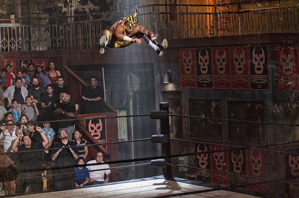 Lucha Underground Lucha Underground Grimsby El Rey Network