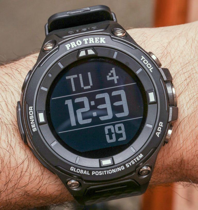 Casio Pro Trek Smart WSDF20 Watch Review Wrist Time