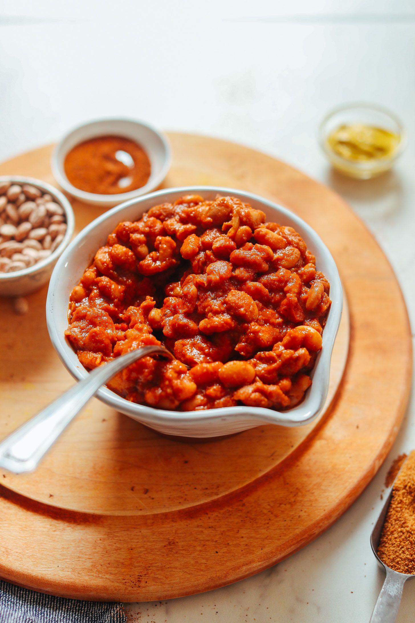 1 Pot Bbq Baked Beans