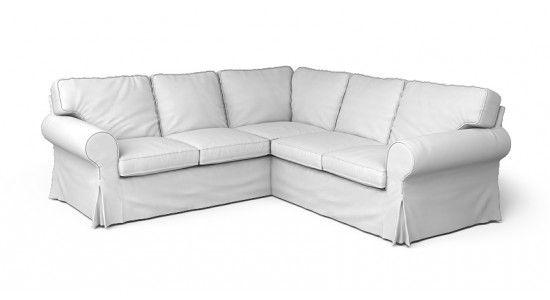 Ektorp Corner Sofa Cover 2 2 Comfort Works Custom Slipcovers Corner Sofa Covers Ektorp Sofa Cover Sofa Covers