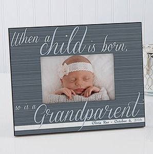 A grandparent is born personalized frame grandparents newborn a grandparent is born personalized frame personalized picture framespersonalized baby giftsladies negle Image collections