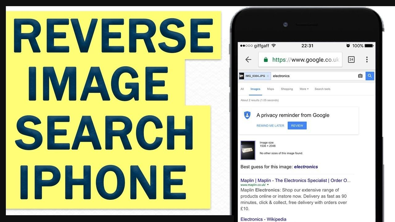 How To Reverse Image Search On Iphone Watch Video Here Http