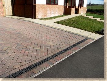 Threshold Channel Stone Driveway Paver Stones