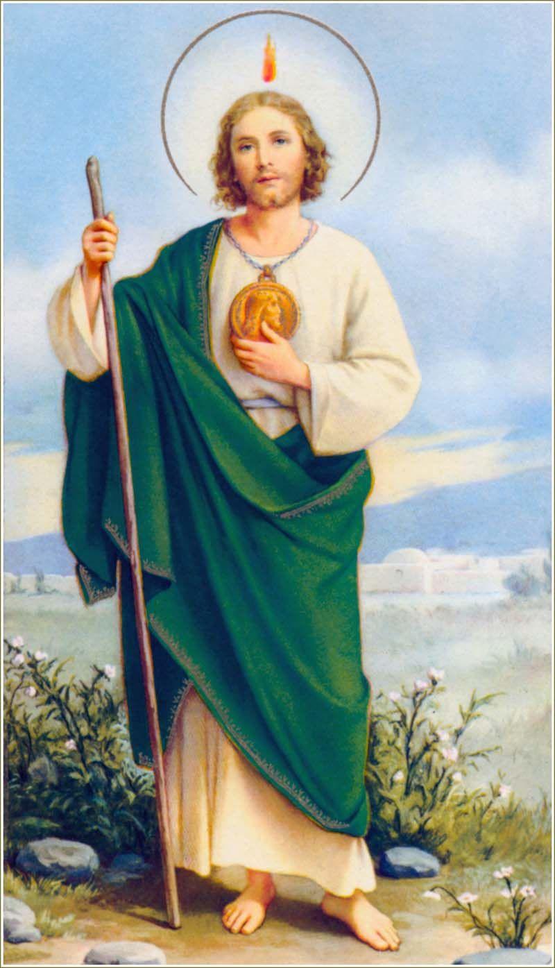 San Judas Tadeo Dios Y Jesus Y Santos Saints Patron Saints St