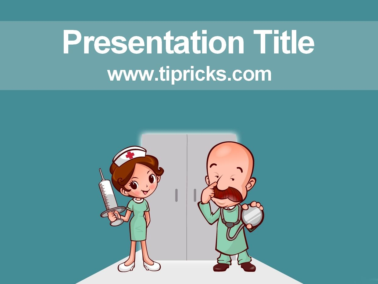 Surgery Powerpoint Template Powerpoint Template Free