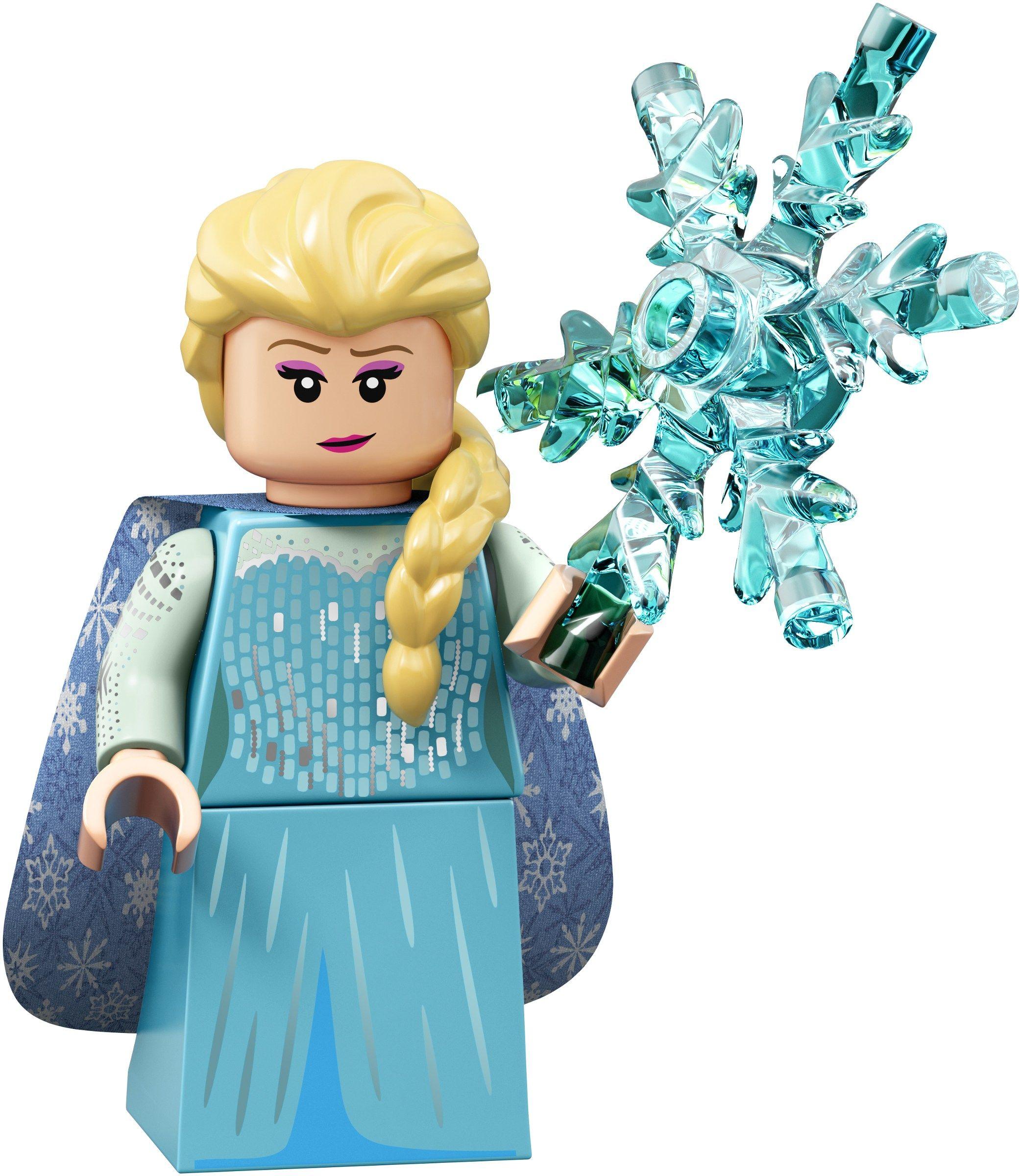 Elsa - New LEGO collectable minifigures series - Disney 2