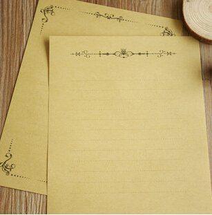 Robot Check Letter Writing Paper Letter Set Letter Paper